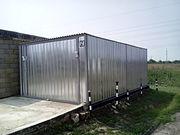 Гараж-пенал металлический - foto 0
